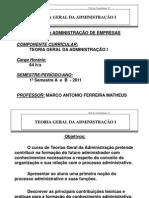Slides TGA Resumao