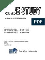 CASE STUDY on Nestle(Final)