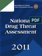 US DoJ - National Drug Threat Assessment 2011