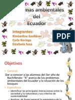 Problemas Ambientales Del Ecuador