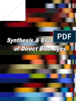 Synthesis and Evaluation of Direct Blue Dyes 7 Mansoor Iqbal