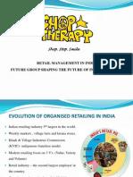 Retail Management Project Final