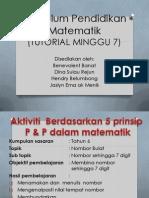 Kurikulum Pendidikan Matematik