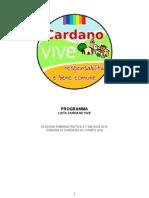 Programma Cardano Vive