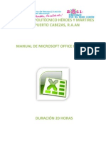Manual de Microsoft Office Excel 2007 30horas