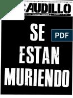 Revista El Caudillo nro. 55 a 63