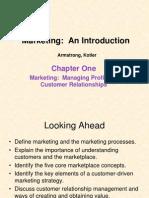 Marketing Ch 1