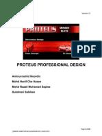 PCB Design Using Proteus Professional 7