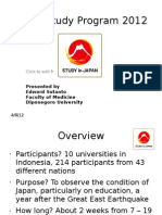 Japan Study Program