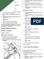 Manutenção Caixa Direção Mec e DH Opala