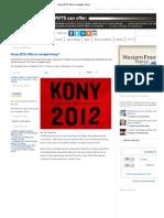 Kony 2012_ Who is Joseph Kony