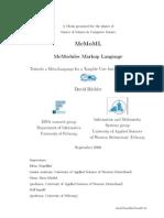MeMoML - MSc Thesis