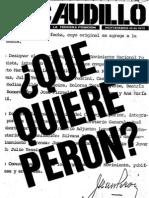 Revista El Caudillo nro. 01 a 09