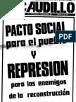 Revista El Caudillo nro. 10 a 18