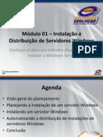 Módulo 01 - Instalação e Distribuição de Servidores Windows