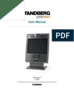Videoconferencing Tandberg Centric 1000 Mxp User Manual