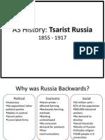 Tsarist Russia 1855-1917