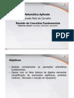 Matematica Aplicada Teleaula1 Slide