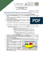 Subiect CIA 2011 Clasa a IX a ProbaPractica Finala