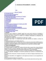 Acidente Do Trabalho - Regras de Procedimento - FIESP