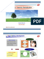 Paper Batteries 1