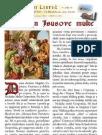 Župni listić - Dubrava - travanj 2012.