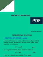 Magnetic Materials 1