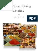 Hierbas, Especias y Semillas Por Jorge Holgado Torres