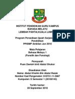 Kerja Kursus Fonetik & Fonologi Ipg Kbm