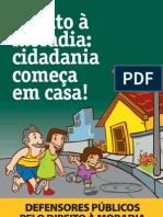 Cartilha Campanha Nacional Dia Do Defensor p Blico 2010