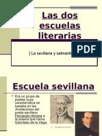 Las Dos Escuelas Liter Arias. Sevillana y Salmantina