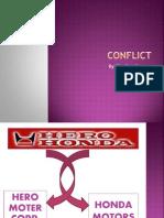 Hero Honda Conflict