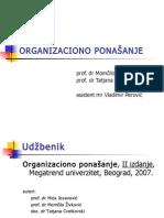 Organizaciono Ponasanje -Osnovne Informacije