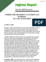 Property Tax Shift Successes