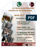 IoBM Students_ Business and Household Solutions for the Layman March 12