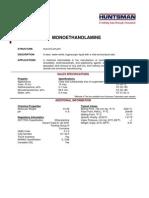 Monoethanolamine Technical Spec