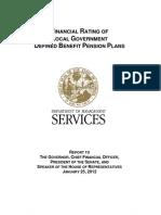 DMS Financial Rating Plan