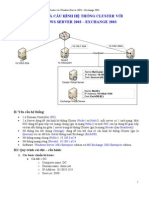 Cai Dat Va Cau Hinh He Thong Cluster Voi Windows Server 2k3 - Exchange 2k3