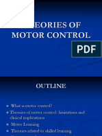 Theories of Motor Control Kmc