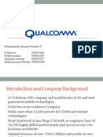 Strategy Group9 Section F Qualcomm