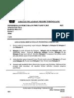 Trial Pmr 2011 Bahasa Melayu Trg Kertas2