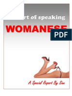 Womanese Report