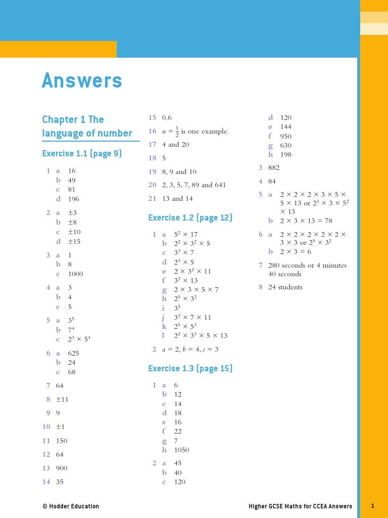 Pupil Answers | Rational Number | Decimal
