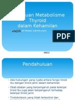 Gangguan Metabolisme Thyroid