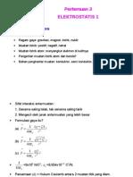 Presentasi 3 Elektrostatis 1