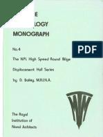 The NPL High Speed Round Bilge