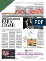Audiogames en El Diario Publico (PlayLab)