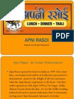 Franchise Presentation - Apni Rasoi Copy