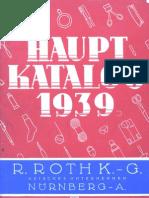 Haupt Katalog 1939