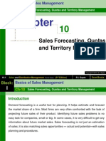 Chapter 10 Sales Forecasting, Quotas and Territory Management-Sales and Distribution Management (1)